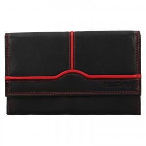 Dámská kožená peněženka SendiDesign Polena - černá