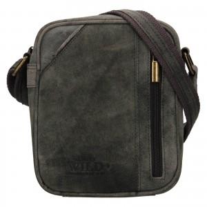 Pánská taška přes rameno Always Wild Merro - černá