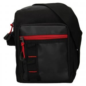 Pánská taška přes rameno Mustang Lednen - černá