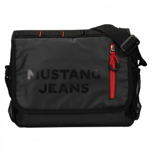Pánská taška přes rameno Mustang Ferer - černá