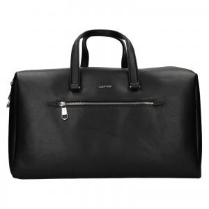 Pánská cestovní taška Calvin Klein Gnost - černá
