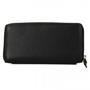 Dámská kožená peněženka SendiDesign Julie - černá
