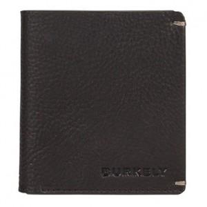 Pánská kožená peněženka Burkely Sten - černá
