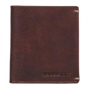 Pánská kožená peněženka Burkely Sten - tmavě hnědá