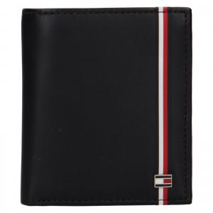 Pánská kožená peněženka Tommy Hilfiger Rejno- černá