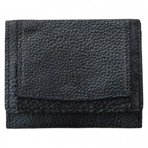 Dámská kožená slim peněženka Lagen Déborah - šedo-černá