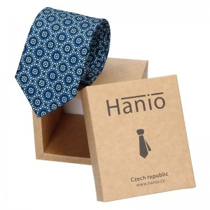 Pánská kravata Hanio Romulus - modrá