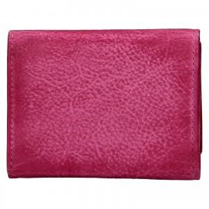 Dámská kožená slim peněženka Lagen Déborah - růžová