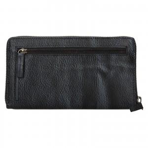 Dámská kožená peněženka Lagen Libertad - šedo-černá