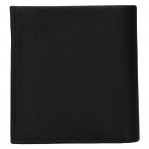 Pánská kožená peněženka Calvin Klein Lemoar - černá