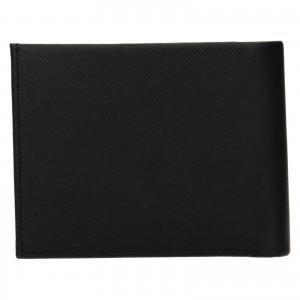 Pánská kožená peněženka Calvin Klein Kryst - černá