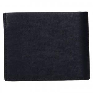 Pánská kožená peněženka Calvin Klein Boleslav - tmavě modrá