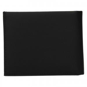 Pánská kožená peněženka Calvin Klein Nemír - černá