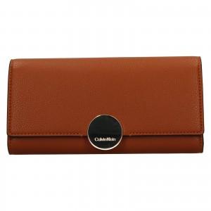 Dámská peněženka Calvin Klein Brenda - hnědá