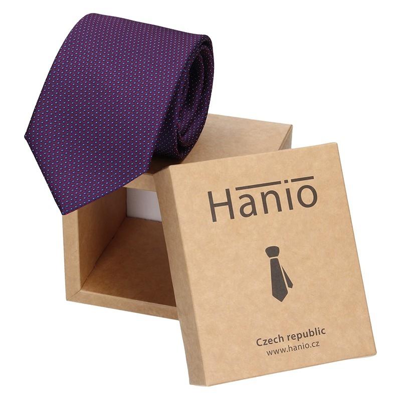 Pánská kravata Hanio Ernest - fialová