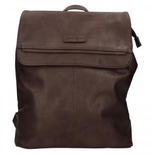 Moderní dámský batoh Enrico Benetti Alexa - tmavě hnědá