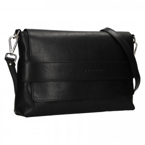 Dámská kožená kabelka Facebag Fabia - černá