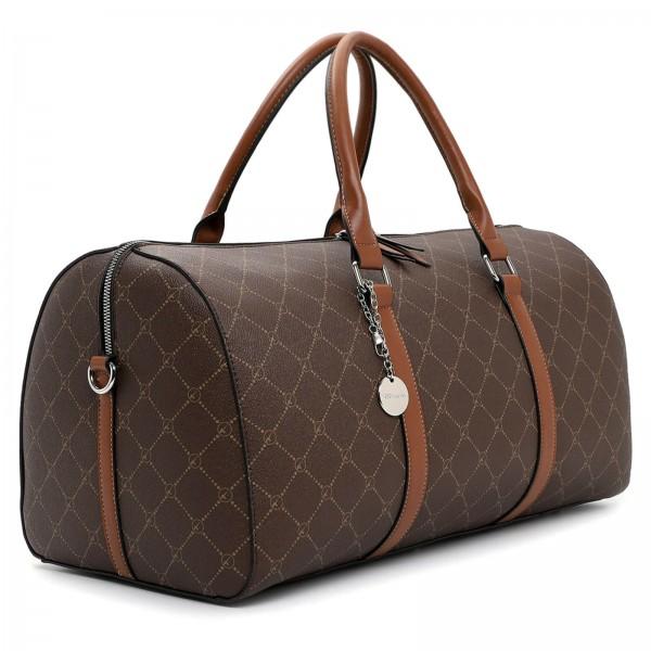 Dámská cestovní taška Tamaris Frieda - hnědá