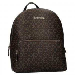 Dámský batoh Calvin Klein Patricias - hnědá