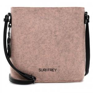 Dámská crossbody kabelka Suri Frey Doller - růžová
