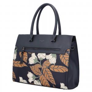 Dámská kabelka David Jones Flower - tmavě modrá
