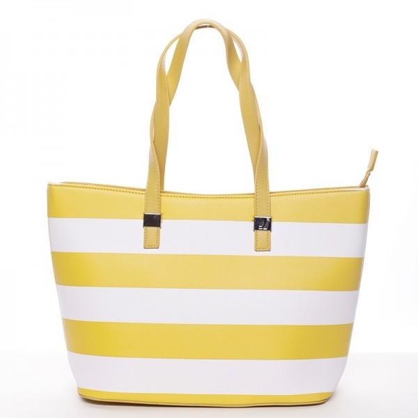 Dámská kabelka David Jones Cleopa - žlutá