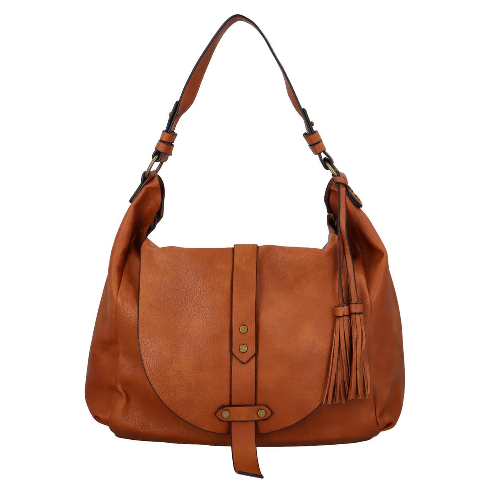 Dámská kabelka přes rameno Paolo Bags Kamila - hnědá