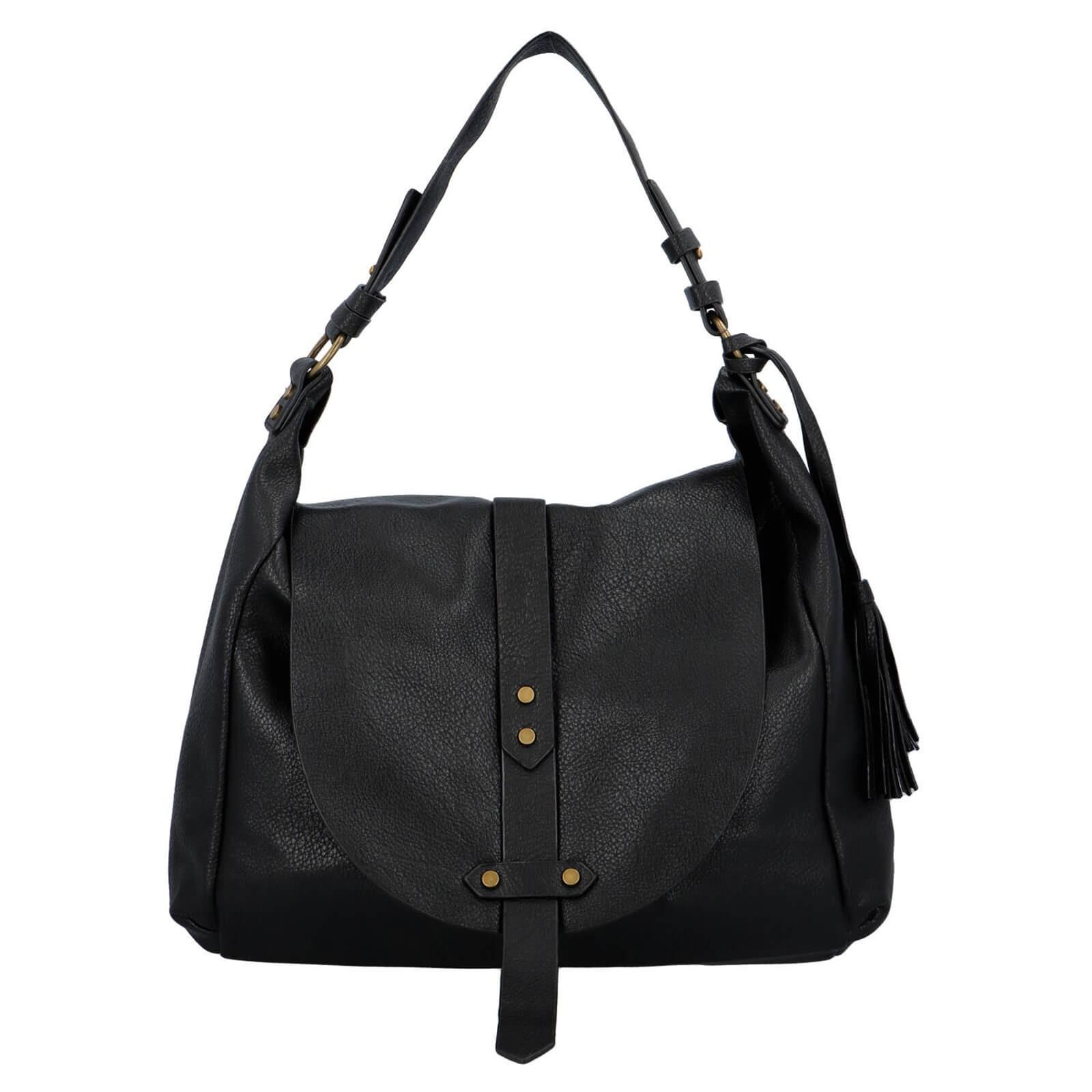 Dámská kabelka přes rameno Paolo Bags Kamila - černá