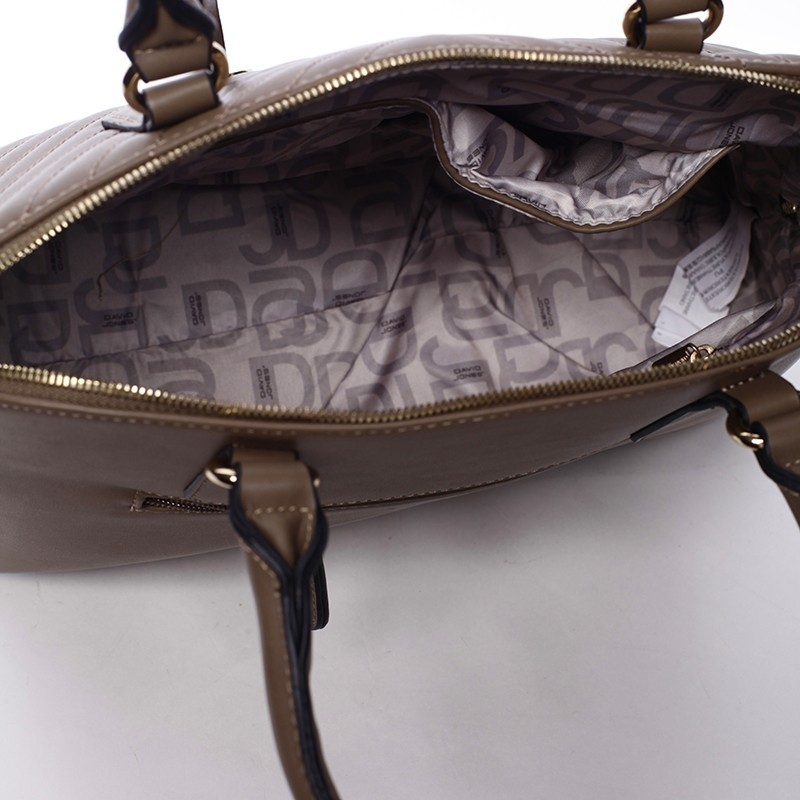 Dámská kabelka David Jones Lacombe - hnědá