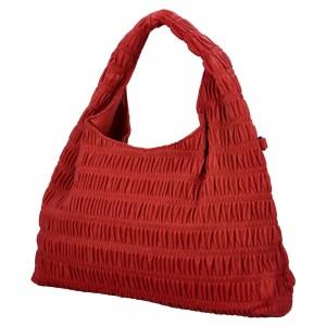 Dámská kabelka přes rameno Paolo Bags Jitka - červená