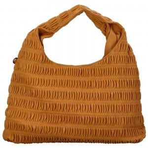 Dámská kabelka přes rameno Paolo Bags Jitka - hořčicová