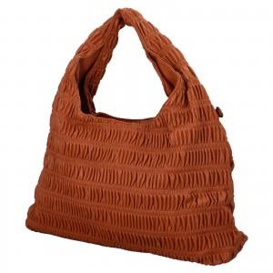 Dámská kabelka přes rameno Paolo Bags Jitka - koňak