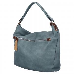 Dámská kabelka přes rameno Paolo Bags Jiřina - světle modrá