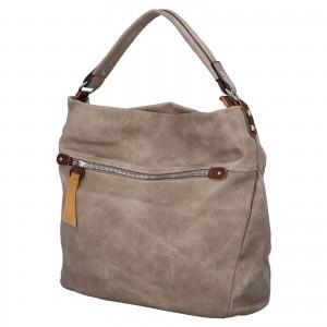 Dámská kabelka přes rameno Paolo Bags Jiřina - tmavě béžová