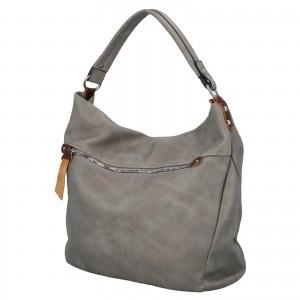 Dámská kabelka přes rameno Paolo Bags Jiřina - šedá