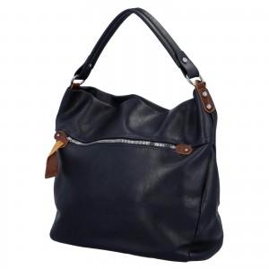 Dámská kabelka přes rameno Paolo Bags Jiřina - tmavě modrá