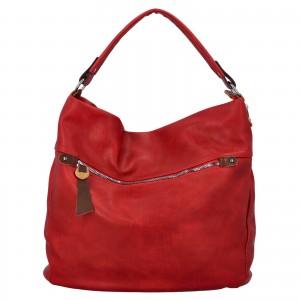 Dámská kabelka přes rameno Paolo Bags Jiřina - červená