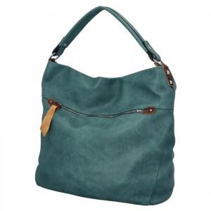 Dámská kabelka přes rameno Paolo Bags Jiřina - zelená