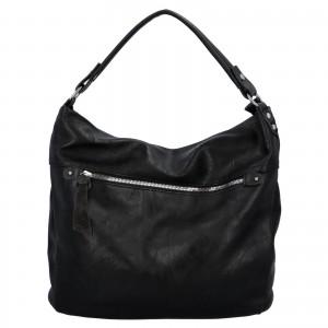 Dámská kabelka přes rameno Paolo Bags Jiřina - černá