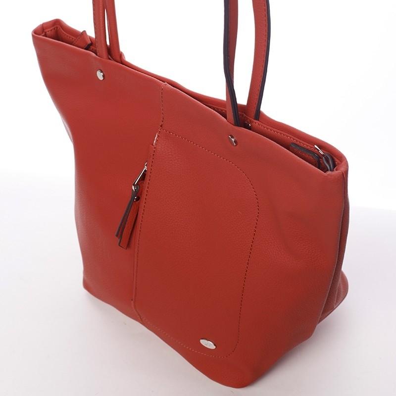 Dámská kabelka David Jones Marny - červená