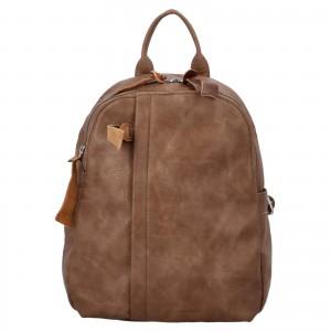 Dámský batoh Paolo Bags Alice - hnedá