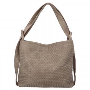 Dámská kabelka přes rameno Paolo Bags Norra - šedá