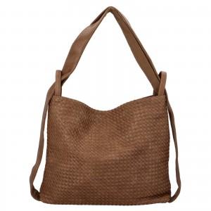 Dámská kabelka přes rameno Paolo Bags Norra - béžová