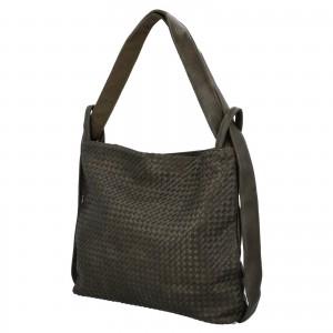 Dámská kabelka přes rameno Paolo Bags Norra - zelená
