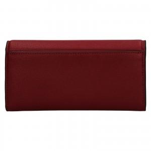 Dámská peněženka Calvin Klein Deltea - vínová