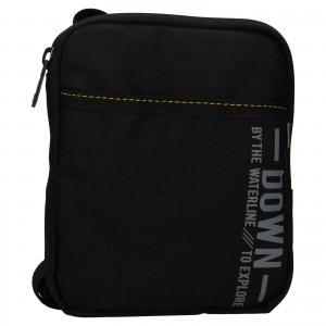 Pánská taška přes rameno Lerros Nevis - černá