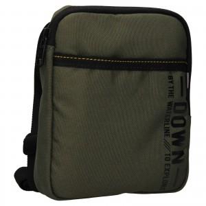 Pánská taška přes rameno Lerros Nevis - zelená