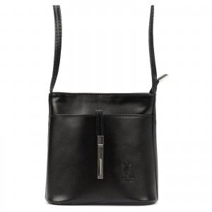 Dámská crosbody kabelka Vera Pelle Diane - černá
