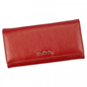 Dámská kožená peněženka Pierre Cardin Kamillo - červená