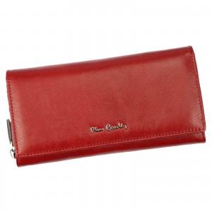 Dámská kožená peněženka Pierre Cardin Veronne - červená